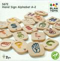 Alfabeto A-Z Lenguaje de signos