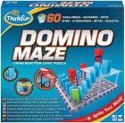 Domino Maze. Rompecabezas de lógica de reacción en cadena