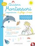 Quadern Montessori d'experiències a la platja i al mar (de 3 a 6 anys)