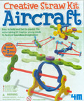 Crea aeronaves con pajitas (Creative Straw Kit Aircraft)