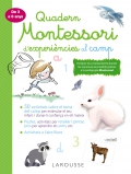 Quadern Montessori d'experiències al camp (de 3 a 6 anys)