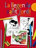 La llegenda de Sant Jordi. Quadern per pintar