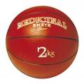 Balón medicinal 2 kg rojo (con bote)