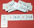 Domino matemático de sumas