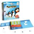 Penguins parade. Coloca los pinguino en línea