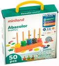 Abacolor shapes (50 piezas y 12 fichas actividades)