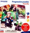 Puzzles progresivos plantas (3 puzzles)