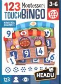 123 Montessori Touch Bingo. Números y cantidades