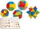 Conexión 150 piezas. Poliedros y formas volumétricas
