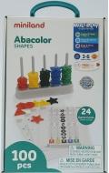 Abacolor shapes (100 piezas y 24 fichas)