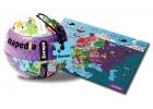 Puzzle ilustrado mapedia Europa 100 piezas