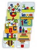 Superpegs: Pack de 12 modelos gigantes (Variado) Primary Colors
