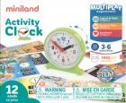 Estuche de las horas del reloj. Activity Clock