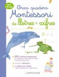 Gran quadern Montessori de lletres i xifres