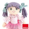 Muñeca de trapo Alice Lila (35cm)