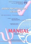 EVALÚA - 9. Bateria Psicopedagògica (joc complet)