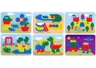 Láminas de modelos para mosaicos de pinchos de 10mm. Modelos varios