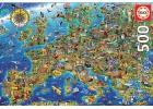 Educa Puzzle 500 piezas. Mapa de Europa