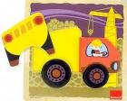 Puzzle camión de construcción
