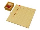 Tablero de madera para multiplicación Montessori