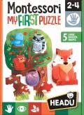 Montessori My First Puzzle El bosque