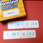Dominó matematico de divisiones