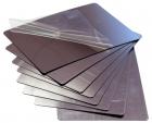 8 Espejos de plástico rectangulares para manualidades y experimentos