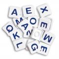 Fichas letras mayúsculas
