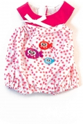 Pijama calor puntos rosa (32 cm)