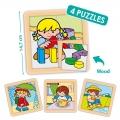 Puzzles de Zaro y Nita (4 puzzles)