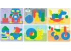 Láminas de modelos para mosaicos de pinchos de 15mm. Juguetes