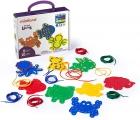 Figuras de animales para enhebrar (Animal lacing)