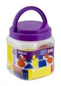 Bloques lógicos de plástico (60 piezas)