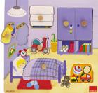 Puzzle de madera habitación