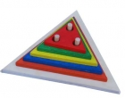 Apilable vertical de triángulo