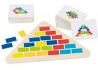 Puzzle triángulo segmentado