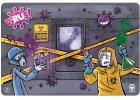 Tapete de juego de neopreno VIRUS