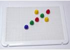 Placa blanca para pinchos / mosaicos (6 unidades)