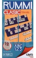 Rummi clasic travel en caja de metal