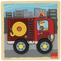 Puzzle camión de bomberos