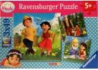 Heidi 3 puzles x 49 piezas