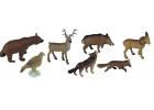 Animales del bosque 8 figuras