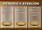 Memoria y atención: Estimulación cognitiva