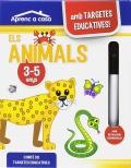 Cartes educatives aprenc a casa - els animals