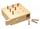 Tablero de madera de clavijas de 9 agujeros (9 hole)