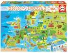 Educa Puzzle 150 piezas. Mapa de Europa