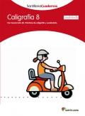 Caligrafía 8 (cuadrícula). Santillana Cuadernos. 4º Primaria
