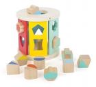 Cilindro cubos de encaje