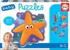 Baby puzzles. Animales del mar