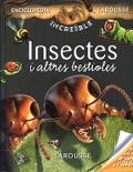 Insectes i altres bestioles. Col.lecció Enciclopedia Increible Larousse